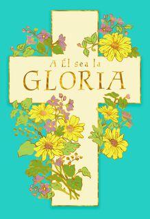 Joy, Peace, Hope Spanish-Language Easter Card,