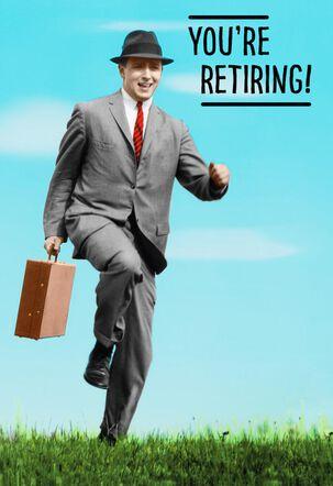 Smart Move Funny Retirement Card