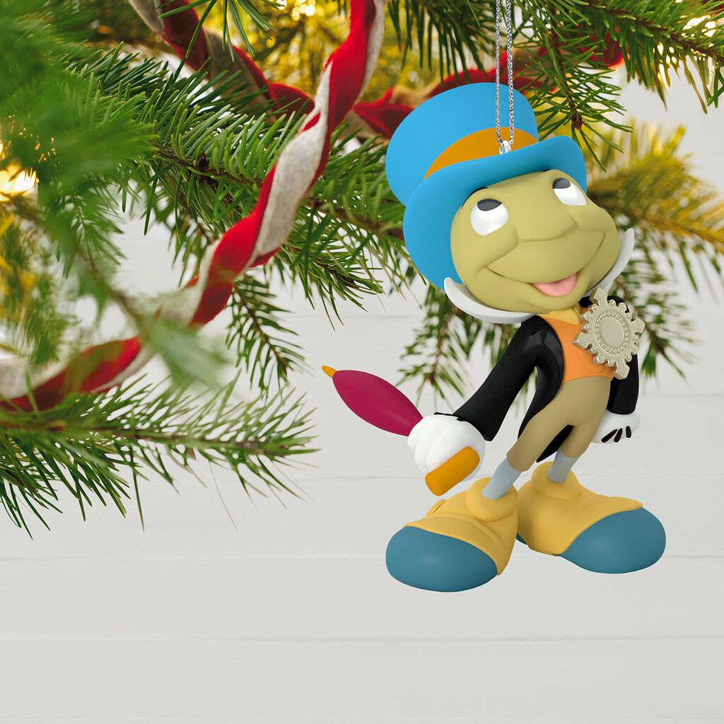 Disney Pinocchio Jiminy Cricket Ornament - Keepsake Ornaments - Hallmark