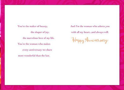 Lgbt greeting cards gifts gay greeting cards hallmark woman i love anniversary card stopboris Images
