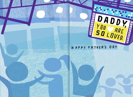 #1 Dad Father's Day Sound Card,