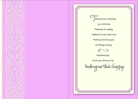 thankyou romantic birthday card  greeting cards  hallmark, Birthday card
