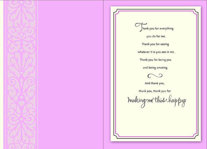 ThankYou Romantic Birthday Card Greeting Cards Hallmark – Romantic Birthday Card