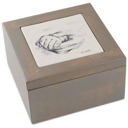 Sweet Baby Wooden Treasure Box, , large