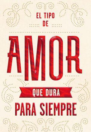An Enduring Love Spanish-Language Birthday Card