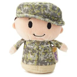 itty bittys® Green Camo Boy Stuffed Animal, , large