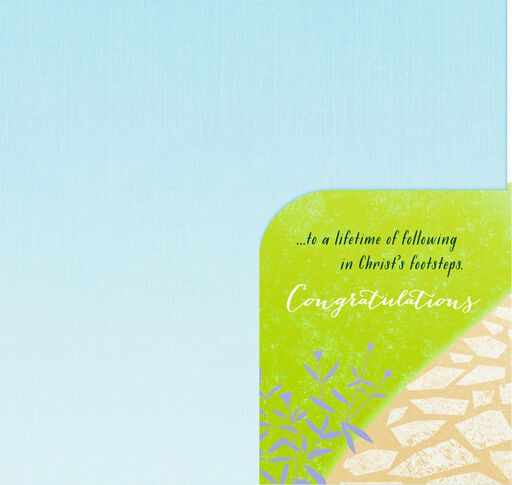 Stone Path Confirmation Money Holder Card,