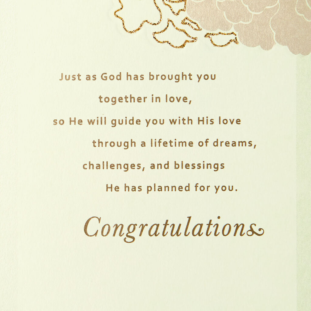 Patient And Kind Religious Wedding Card Greeting Cards Hallmark
