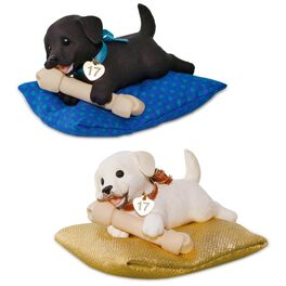 Playful Puppy Surprise Ornament, , large