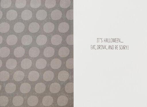 Spooky Dessert Table Halloween Card,
