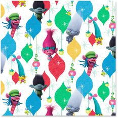 Dreamworks Trolls Supersize Wrapping Paper Roll 60 Sq Ft