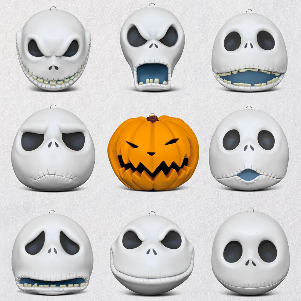 Tim Burton\'s The Nightmare Before Christmas The Many Faces of Jack ...