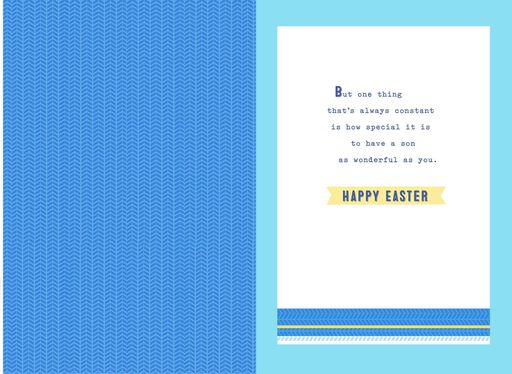 Wonderful As You Easter Card for Son,