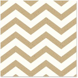 Chevron Pattern on Kraft Wrapping Paper Roll, 15 sq. ft., , large