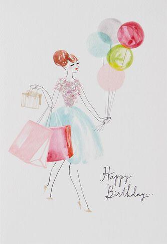Fashionably Late Belated Birthday Card Greeting Cards Hallmark