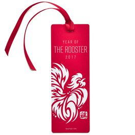 Year of the Rooster Lunar New Year Bookmark, , large