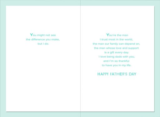 You're Amazing Father's Day Card for Partner,