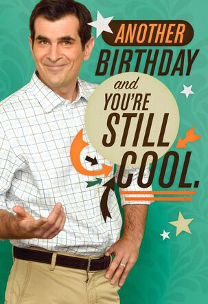 Modern Family—Phil Musical Birthday Card