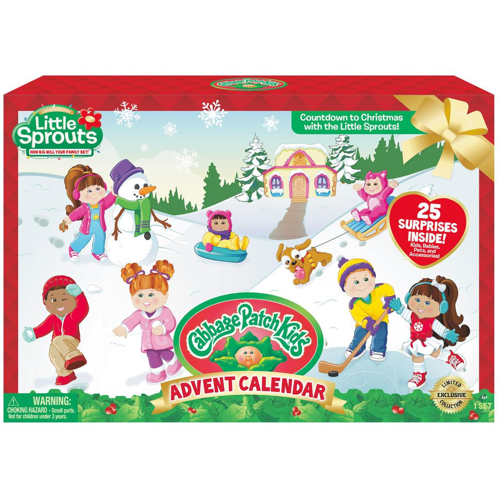 Cabbage Patch Kids Little Sprouts Advent Calendar Collectible Toys