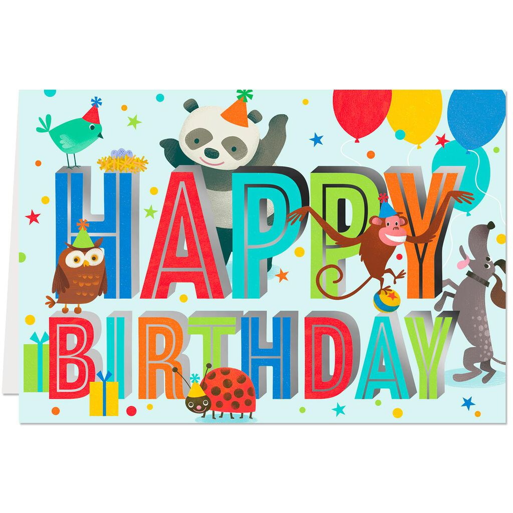 Celebrate You Birthday Cards Pack Of 10