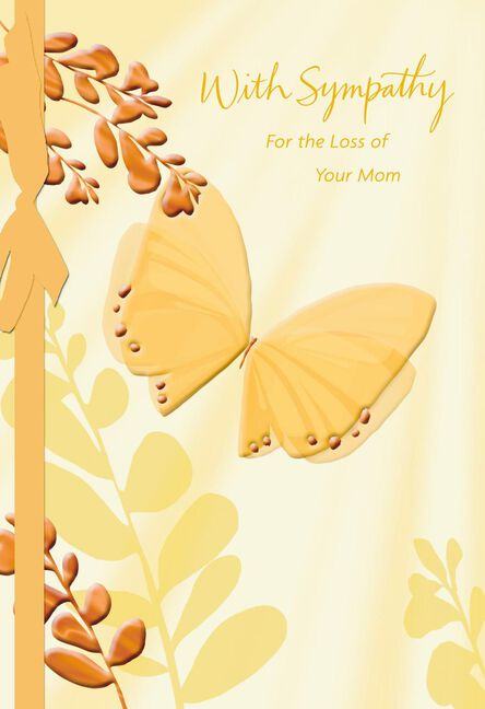 Comforted by memories religious sympathy card for loss of mother m4hsunfo