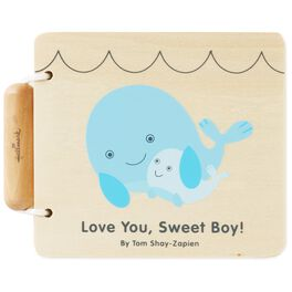 Love You, Sweet Boy! Wood Whale Book, , large