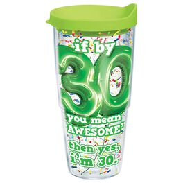 Tervis® 30th Birthday Tumbler, 24 oz., , large