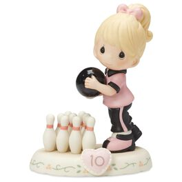 Precious Moments® Growing in Grace—Age 10 Blonde Girl Porcelain Figurine, , large