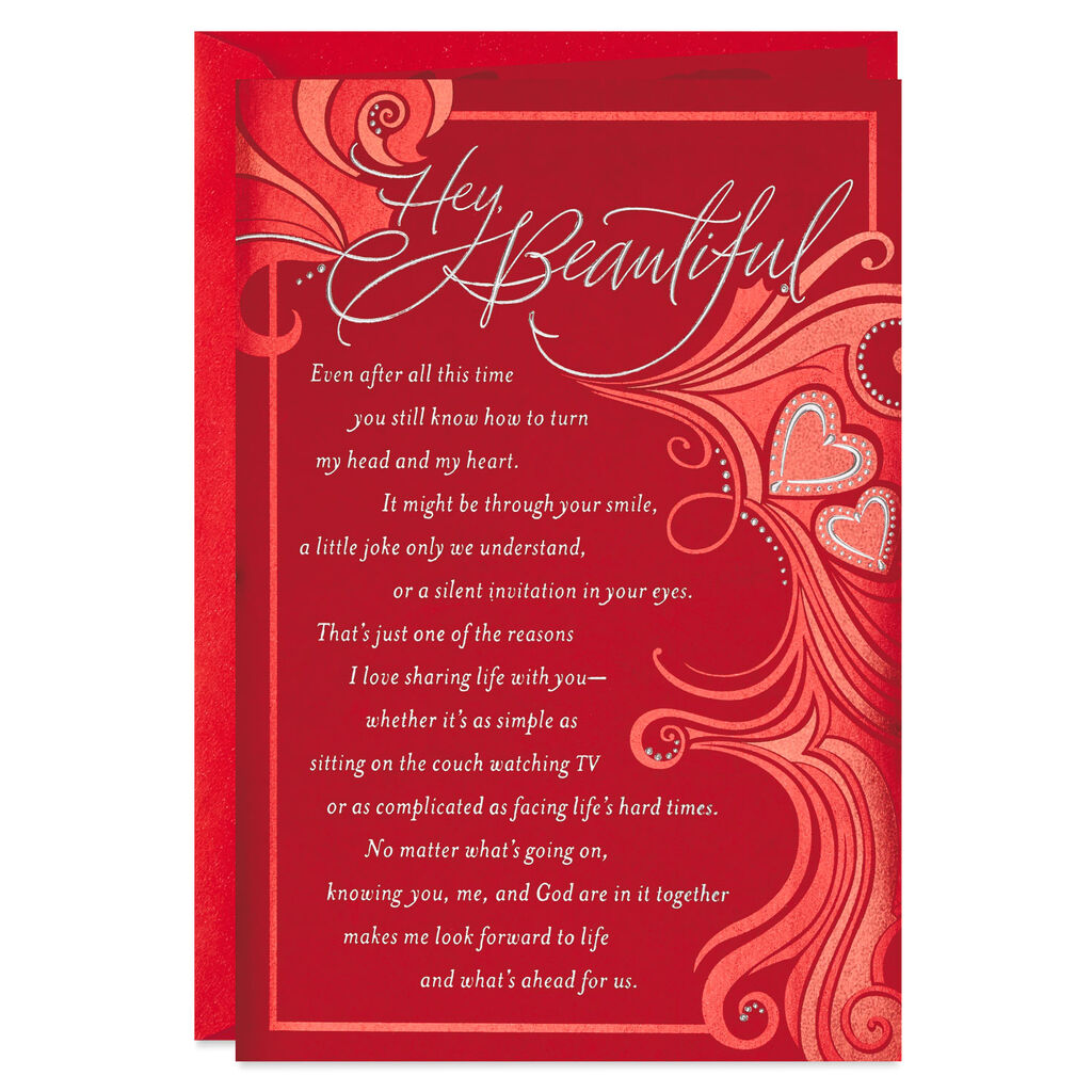 Beautiful Religious Christmas Cards.Beautiful Wife Religious Valentine S Day Card