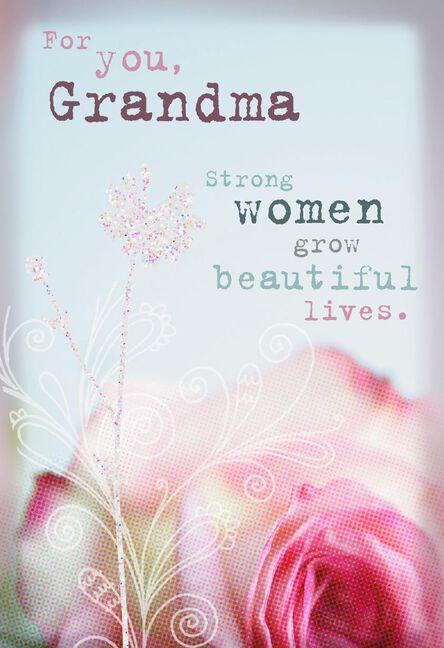 Loved So Much Grandma Birthday Card Greeting Cards Hallmark