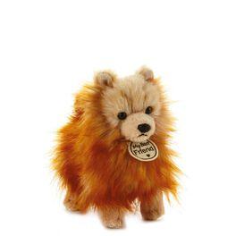Fluffy Pom Pom Dog Small Stuffed Animal, , large