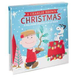 Peanuts® A Charlie Brown Christmas Lighted Pop-Up Book, , large