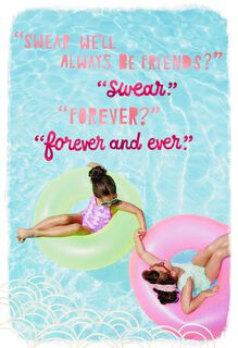Friends Forever and Ever Friendship Card,