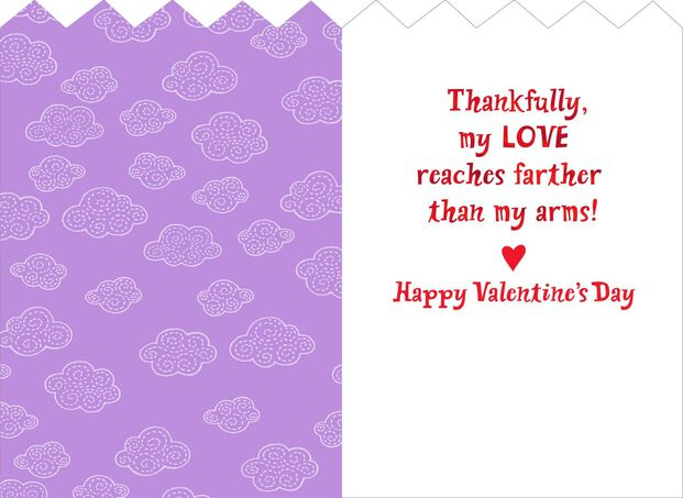 084c04d322ae Hugging Dinosaurs Valentine's Day Card for a Child - Greeting Cards ...
