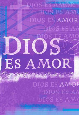 God is Love Spanish Easter Card