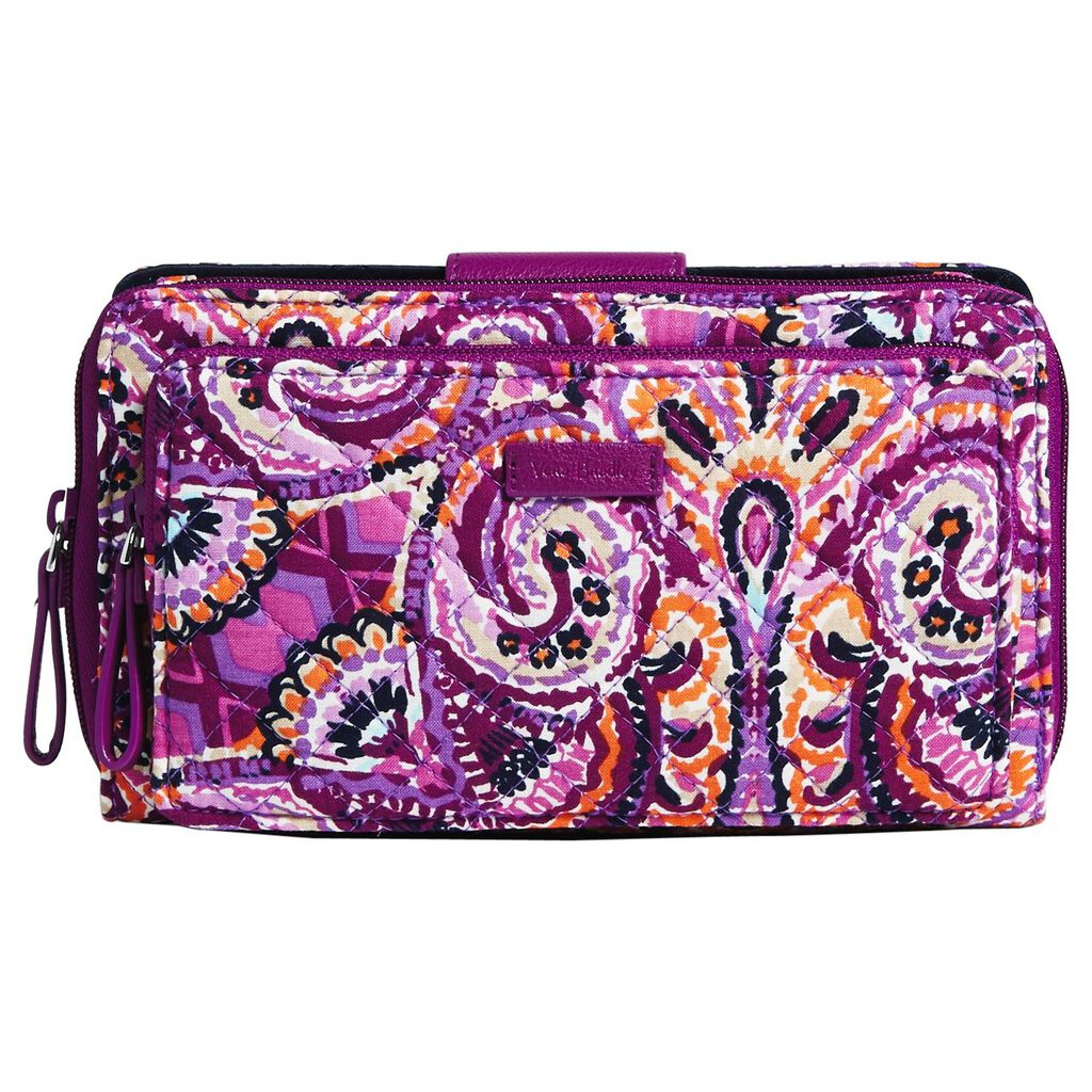 Vera Bradley Iconic Deluxe All Together Crossbody Bag In Dream Tapestry