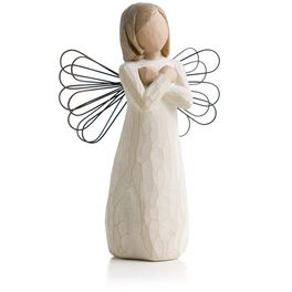 Willow Tree® Sign For Love Angel Figurine, , large