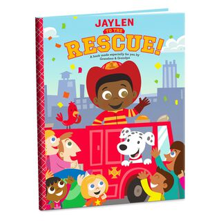 Rescue Personalized Book,