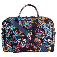 Vera Bradley Weekender Travel Bag In Butterfly Flutter