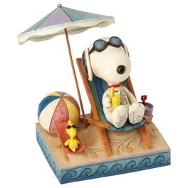 Jim Shore® Peanuts® Day at the Beach Figurine, , large