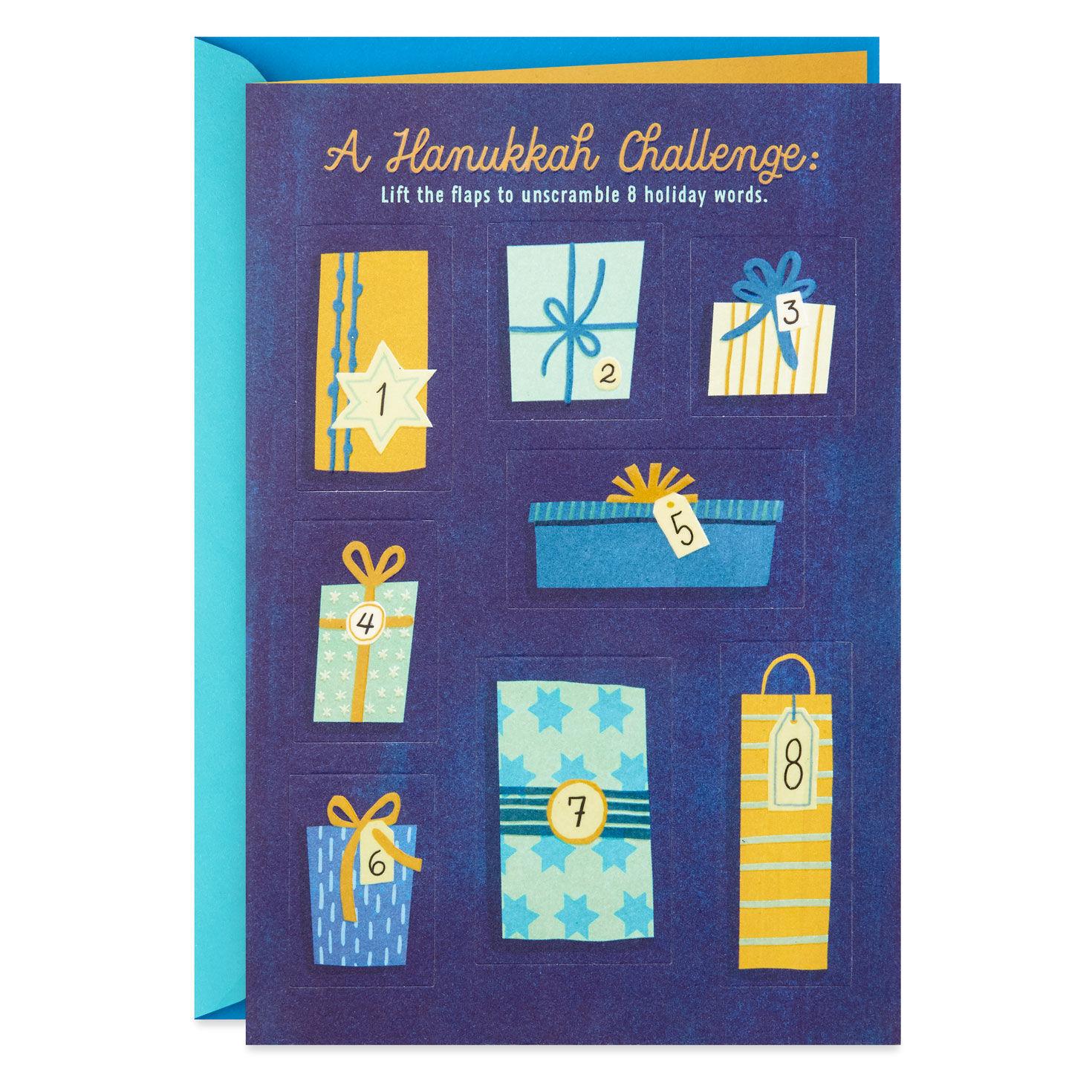 photograph regarding Printable Hanukkah Cards known as Hanukkah Playing cards Hallmark
