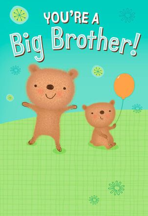 Two Bears New Big Brother Card