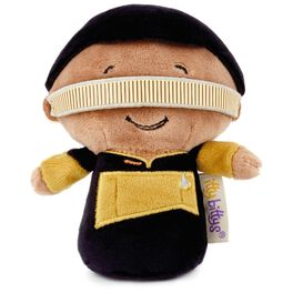 itty bittys® STAR TREK: THE NEXT GENERATION™ Lieutenant Commander Geordi La Forge Stuffed Animal, , large