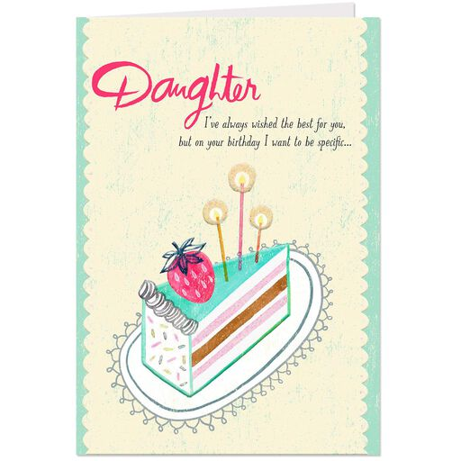 You Have So Many Gifts Birthday Card For Daughter