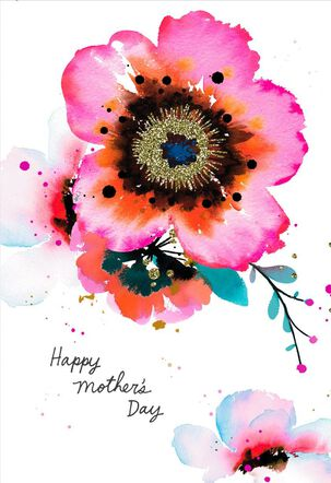 Woman of Strength and Beauty Mother's Day Card