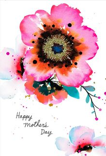 Woman of Strength and Beauty Mother's Day Card,