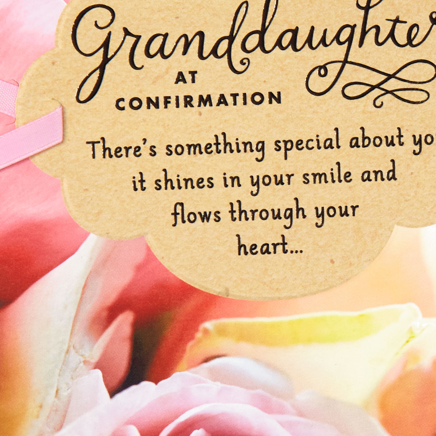 Confirmation Card Granddaughter Confirmation Blessings