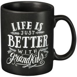 Primitives by Kathy Grandkids Chalk Mug, , large