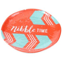 Nibble Time Small Melamine Plates, Set of 4, , large
