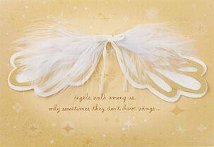 You're an Angel, Mom Birthday Card